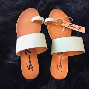 Seven7 Turquoise Sandals